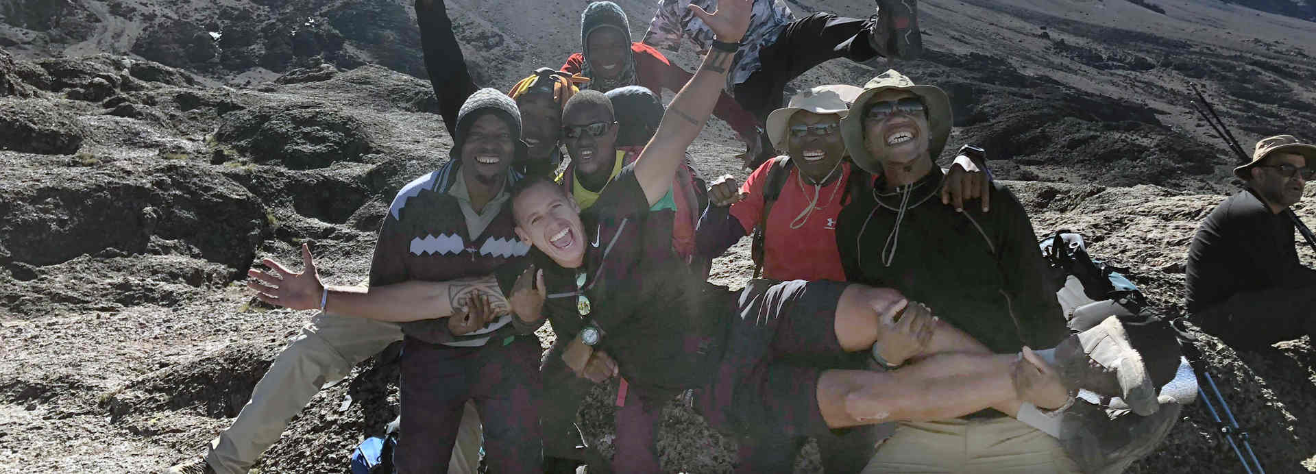 Scott Henley takes on Kilimanjaro with Ultra Adventures