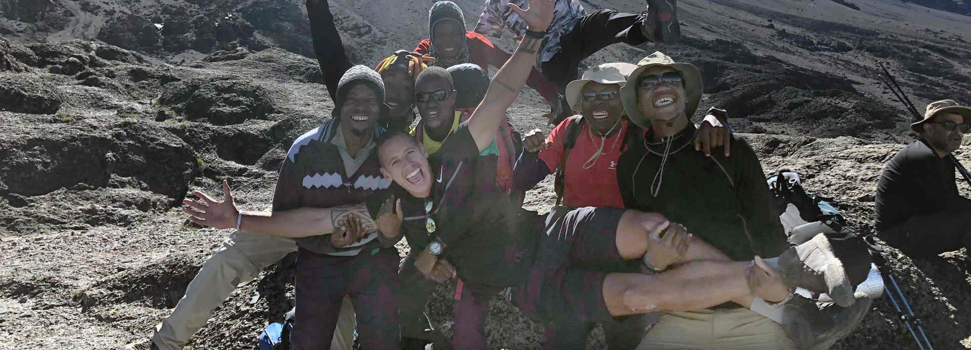 Scott Henley takes on Kilimanjaro with Ultra Adventures
