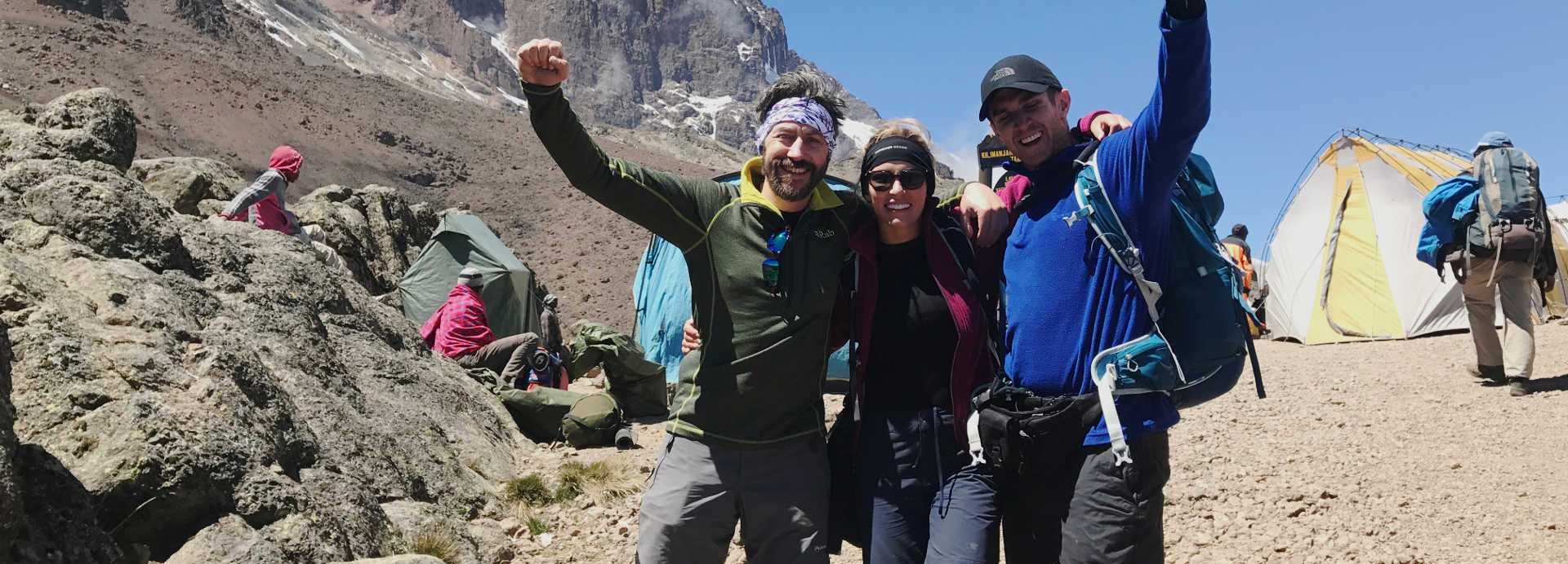 Jon Leonard climbs Kilimanjaro with Ultra Adventures