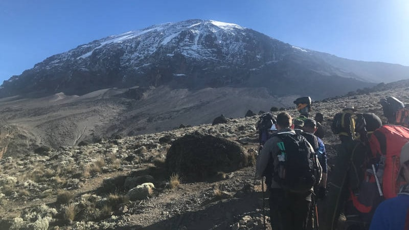 ultra adventures kilimanjaro trip from a distance
