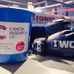 Ultra White Collar Boxing Cancer Research UK fundraisers