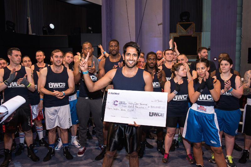 Ultra White Collar Boxing Winner