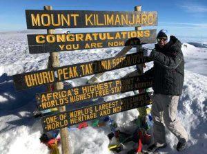 Scott takes on Kilimanjaro with Ultra Adventures