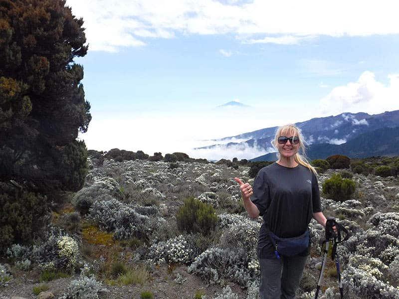 Linda Climbs Kilimanjaro