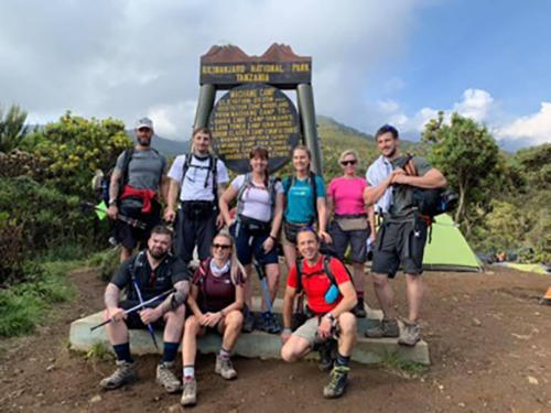 Ultra Adventures - Machame Gate (1790m) to Machame Camp (3010m)