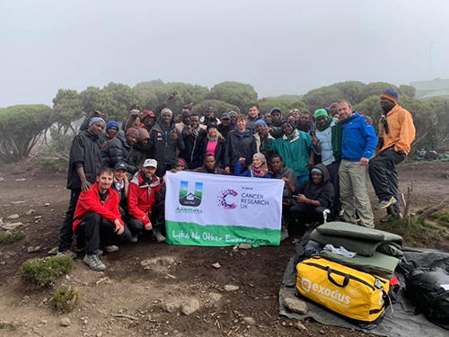 Ultra Adventures - Trek Millennium Camp (3790m) to Mweka Gate (1630m)